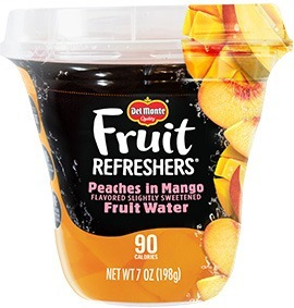 Del Monte Fruit Refreshers: Peaches in Mango Fruit Water